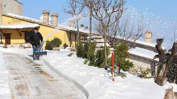 Inverno a La Contesa.
