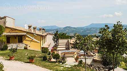 Casa vacanza La Contesa, Cagli.