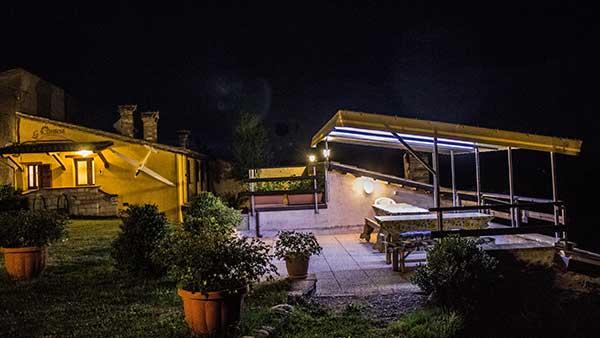 Casa vacanza La Contesa, panorama intorno Cagli.
